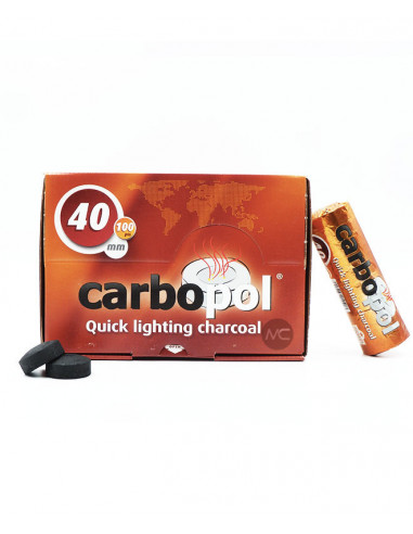 CHARBONS CARBOPOL 40MM