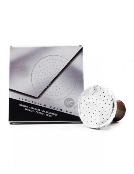 Aluminium Pré-Troué - 25 Paquets