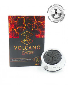 VOLCANO COCO TRIO CHARBONS NATURELS